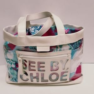 SEE BY CHLOE' CLEAR BAG